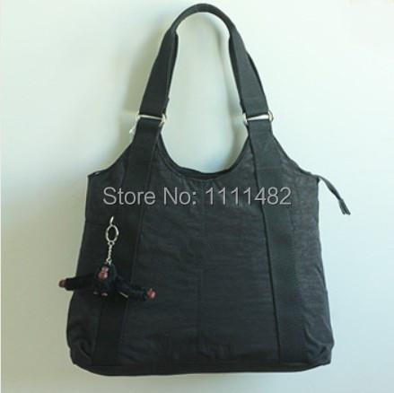 2015 High Quality Handbags bolsas kip,Durable Crinkle Nylon Tote Shoulder bag,Women's Shopping Bags With Monkey mochila kippling(China (Mainland))