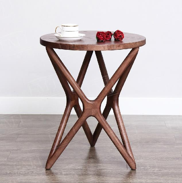 Coffee Table Simple Modern Creative Small Coffee Table: Simple-modern-personality-furniture-creative-solid-wood