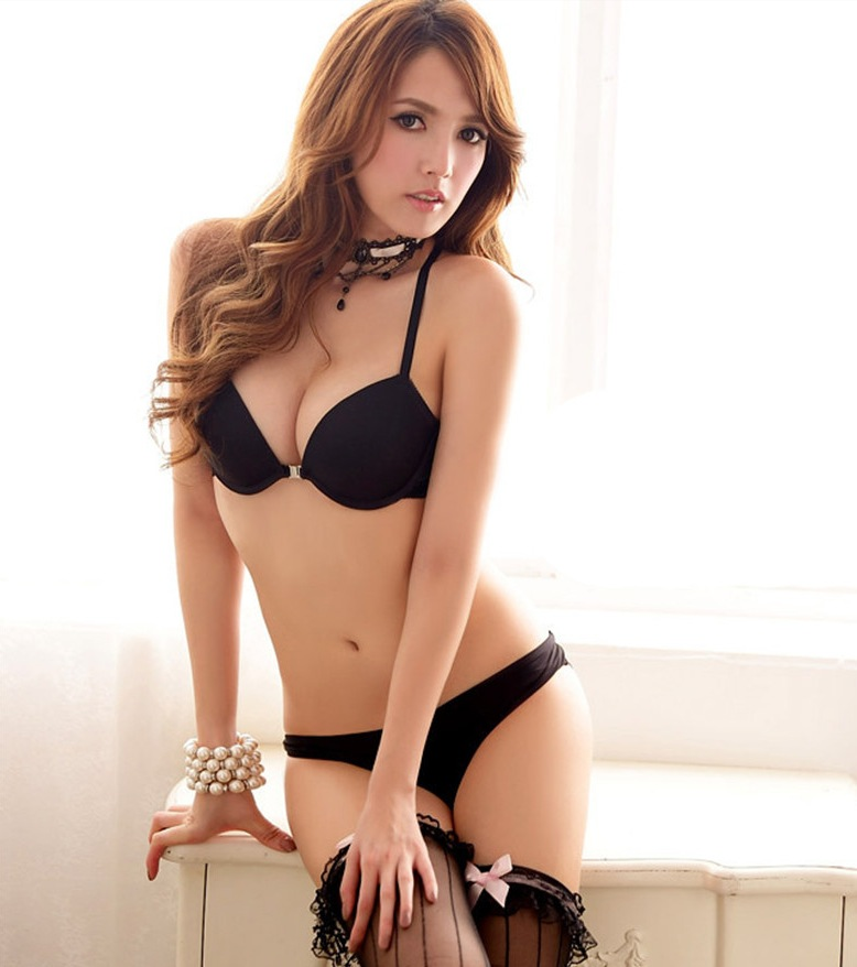 Sexy Elegant Bra and Panty Set Women Bras Underwear Lady Victoria push up bra Lingeries bra sets brief set lingerie set(China (Mainland))
