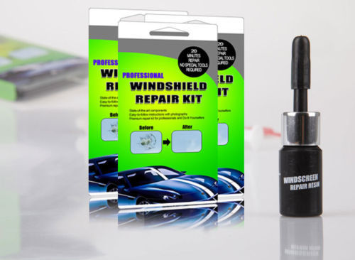 Auto Car Windshield Glass Scratches Repair Windscreen Crack Conceal Tool Kits(China (Mainland))