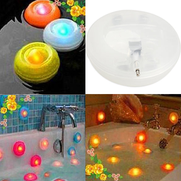 Color Change Floating LED Pond Pool Spa Hot Tub Night Light(China (Mainland))