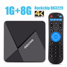 DOLAMEE D5 Android 6.0 TV Box 1GB/8GB Rockchip RK3229 Quad-core 2.4G Wifi Fully Loaded 4K HDMI Streaming Media Player(China (Mainland))