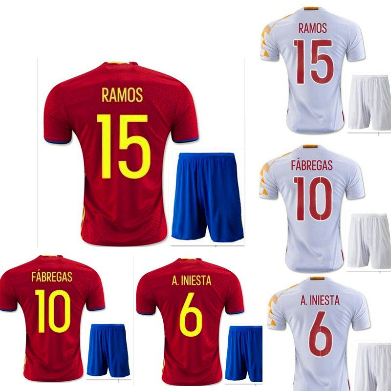 2016 good quality aaa + EURO home & away new survetement football soccer jerseys 16 maillot DE foot emblazoned on free shipping(China (Mainland))