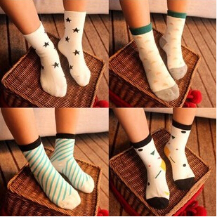 10pairs/lot Cotton socks for children cartoon students athletic socks kids ankle sox free shipping(China (Mainland))