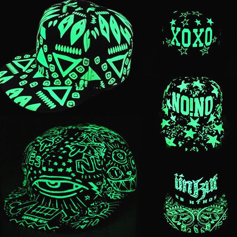 Brand Street Adjustable Bone Fashion Boy Lighted Hat Letters Snapback Cap Men Women Gorras Hip Pop Baseball Capscasquette(China (Mainland))