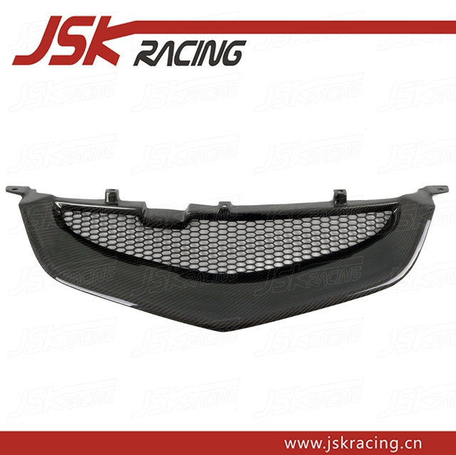 2003-2005 JDM STYLE CARBON FIBER GRILLE FOR HONDA ACCORD CL7 (JSK122401)(China (Mainland))