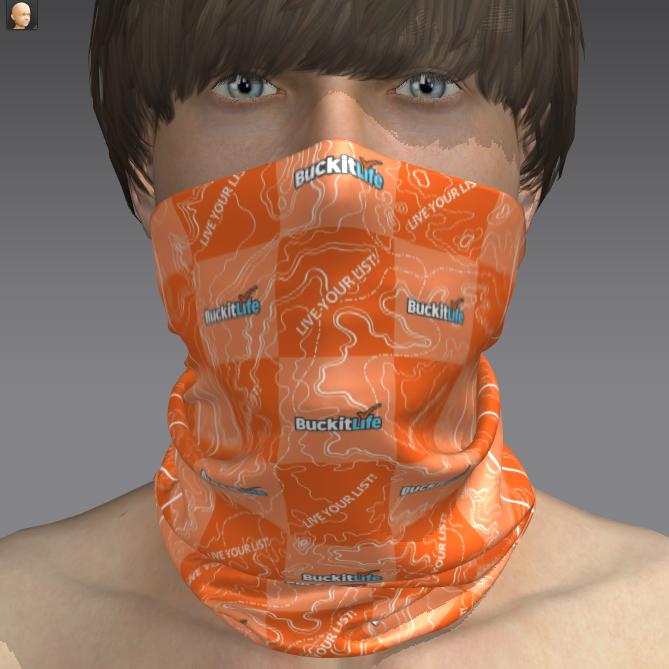 Custom you logo pattern printing 100% polyester fabric cycling neck seamless bandanas(China (Mainland))