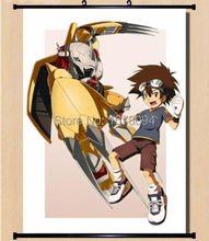 Digimon adventure 15th Anniversary Home Decor Poster Wall Scroll Japan Cosplay