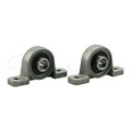 AliExpress Product-ID 32589409375: 2Pcs Zinc Alloy Diameter 8mm Bore Ball Bearing Pillow Block Mounted Support KP08