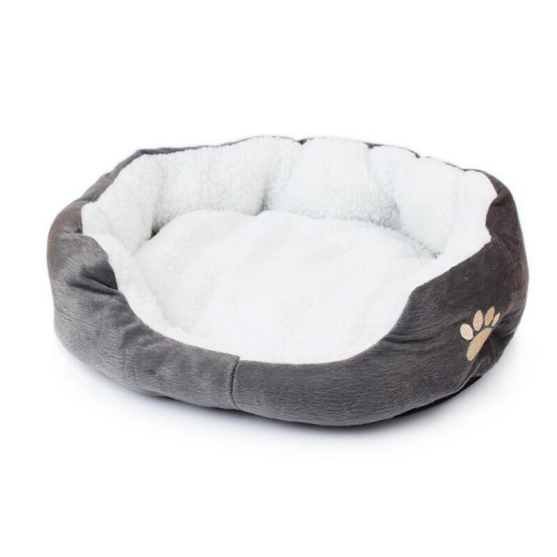 Super Cute Soft Cat Bed Winter House for Cat Warm Cotton Dog Pet Products Mini Puppy Pet Soft Comfortable Nest Cheap Price(China (Mainland))
