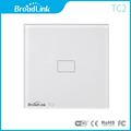 Eu Standard Broadlink Tc2 Wireless Switch 1 Gang Wall Switch Remote Control Switch Touch Switch Smart