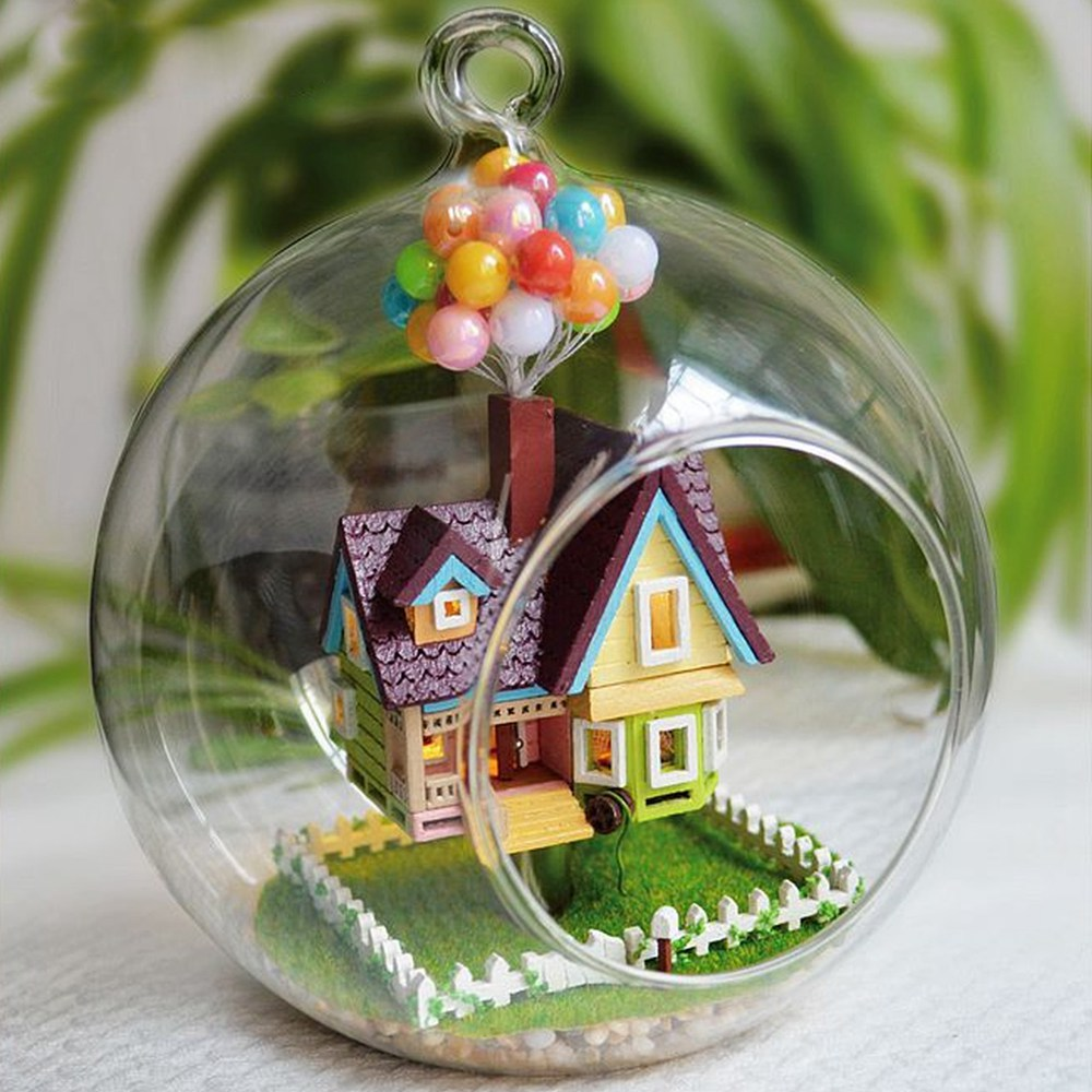 Wholesale miniature diy wooden up the movie inspired 3d for Wholesale glass blocks for crafts