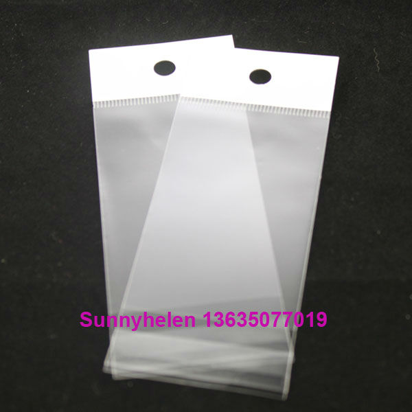 adhesive bags with hanging 85x85mm(China (Mainland))