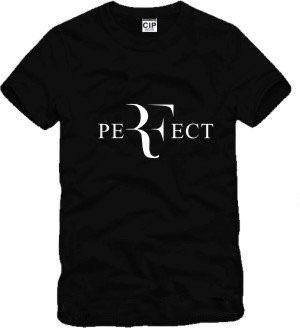 Men Fashion roger federer tennis sport tshirts RF Perfect Letters Design t-shirt hirt Short Sleeve Cotton Tee Shirts XXXL GC194(China (Mainland))