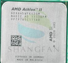 Buy AMD CPU Athlon X4 645 3GHz Quad-Core CPU Processor ADX645WFK42GM 95W Socket AM3 938pin for $28.99 in AliExpress store