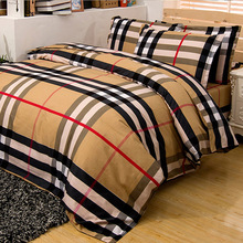 Home Textile Plant of Cashmere 4Pcs Bed Sets Flat Sheet Quilt Cover Pillow Duvet Queen King Size Double Bed Soft Cotton(China (Mainland))