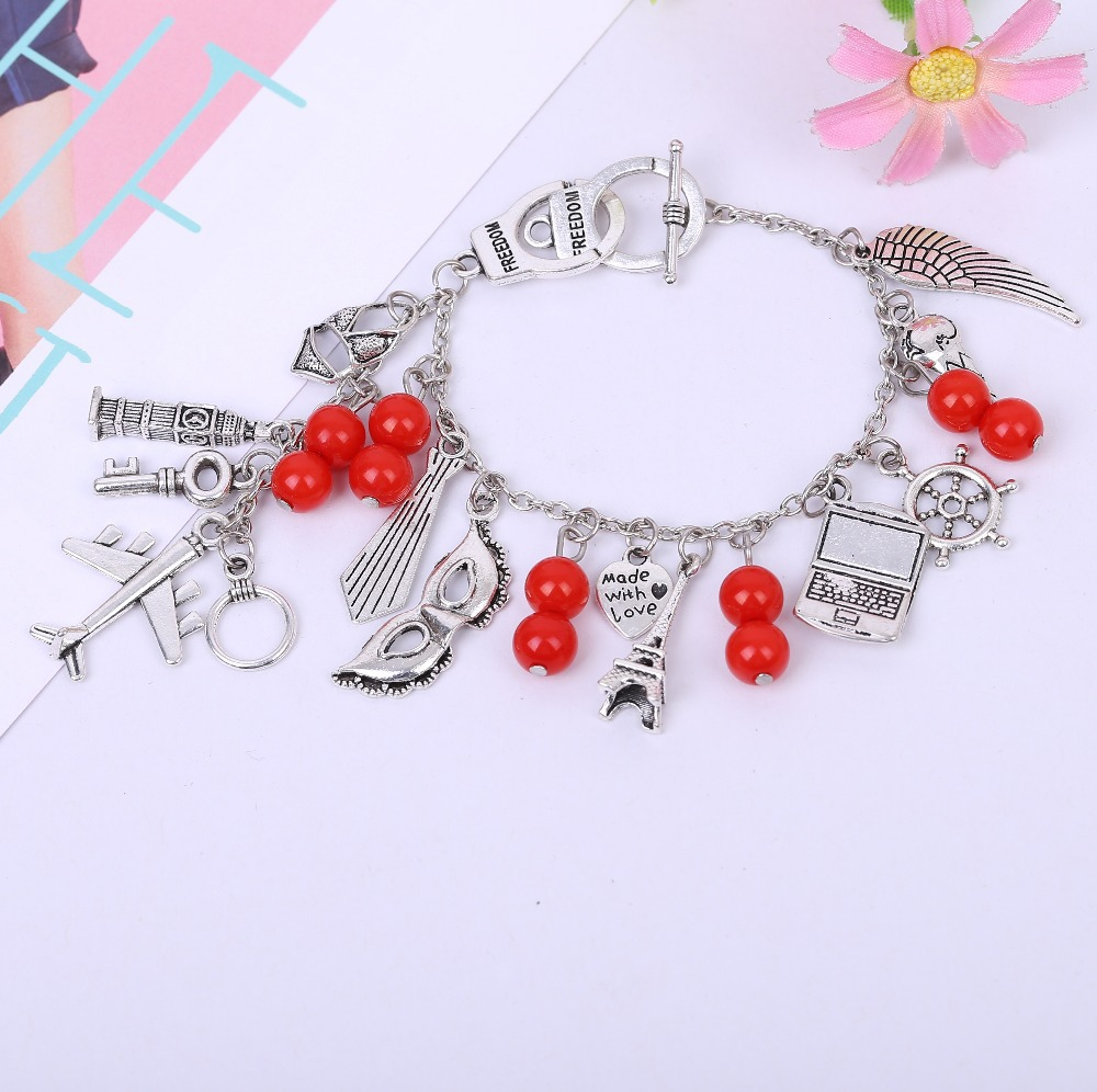 2015 New arrival fifty grey Bracelet hot movies fifty grey with latest bracelet Lovers charming Bracelet Gift for 50 degree funs(China (Mainland))
