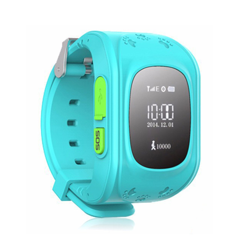 NEW GSM GPS Tracker Watch For Kids baby safety Two Way phone Call SOS Emergency Anti Lost One key baby monitor cellphone App #6(China (Mainland))