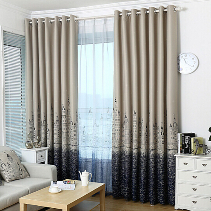 Fashion Quality Finished Window Screening Living Room Curtain Sheer Curtain Tulle Curtains In