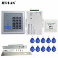 JERUAN FREE SHIPPING Brand NEW RFID Door Access Control System Set Electronic Drop Bolt Door Lock