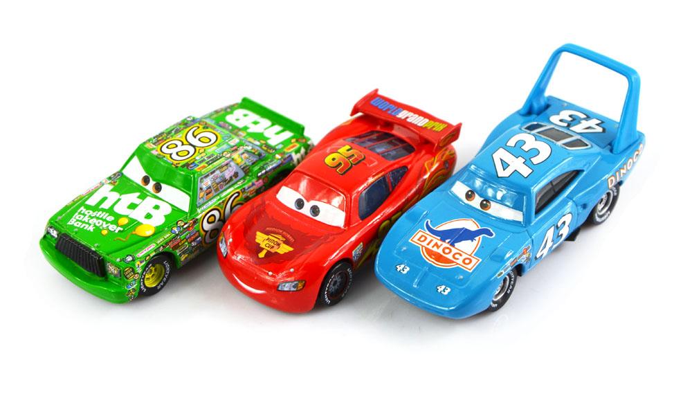 3pcs set 100 original cars pixar 2 diecast models for Bureau cars toys r us