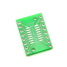 B1363 Free shipping 10PCS TSSOP16 SSOP16 SOP16 to DIP28 Transfer Board DIP Pin Board Pitch Adapter NEW