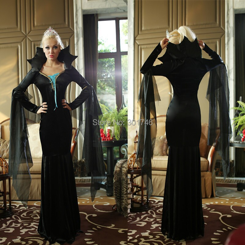 Costume Ideas With Long Black Dress Black Long Sleeve Dress