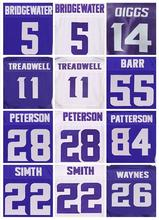 Men's 11 Laquon Treadwell 5 Teddy Bridgewater 14 Stefon Diggs Adrian Peterson Anthony Barr Cordarrelle Patterson elite jerseys(China (Mainland))