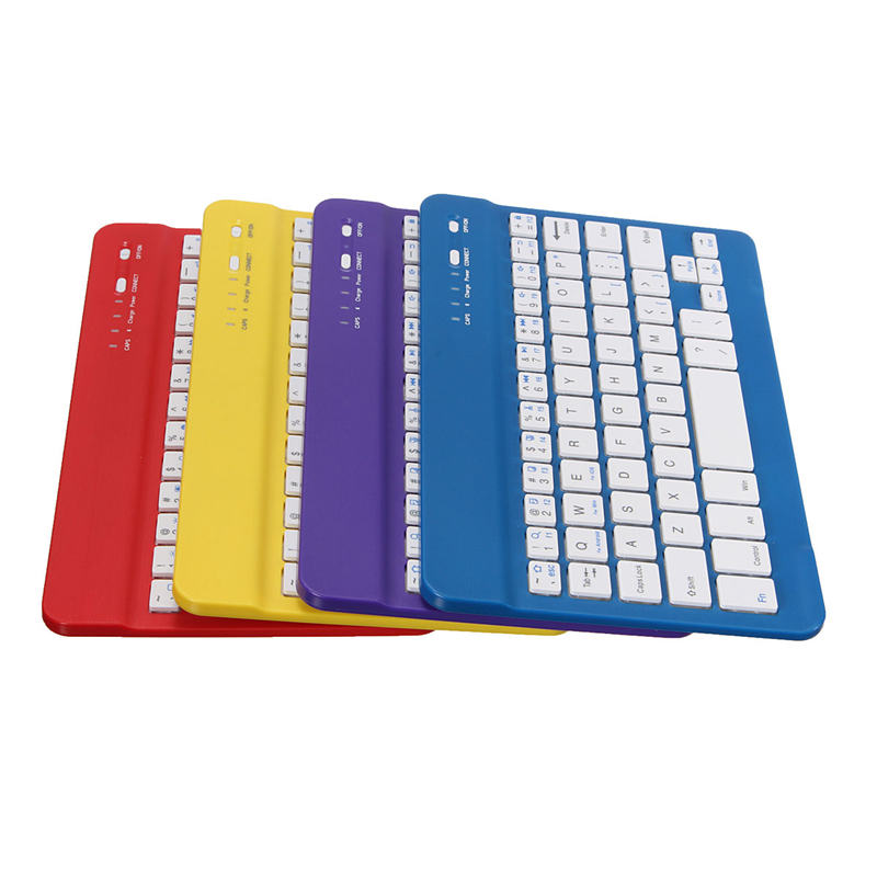 Overvalue 4 colors Aluminum Wireless Bluetooth Mini Keyboard For MAC IOS for Android For Windows PC Tablet For Ipad Air 3(China (Mainland))