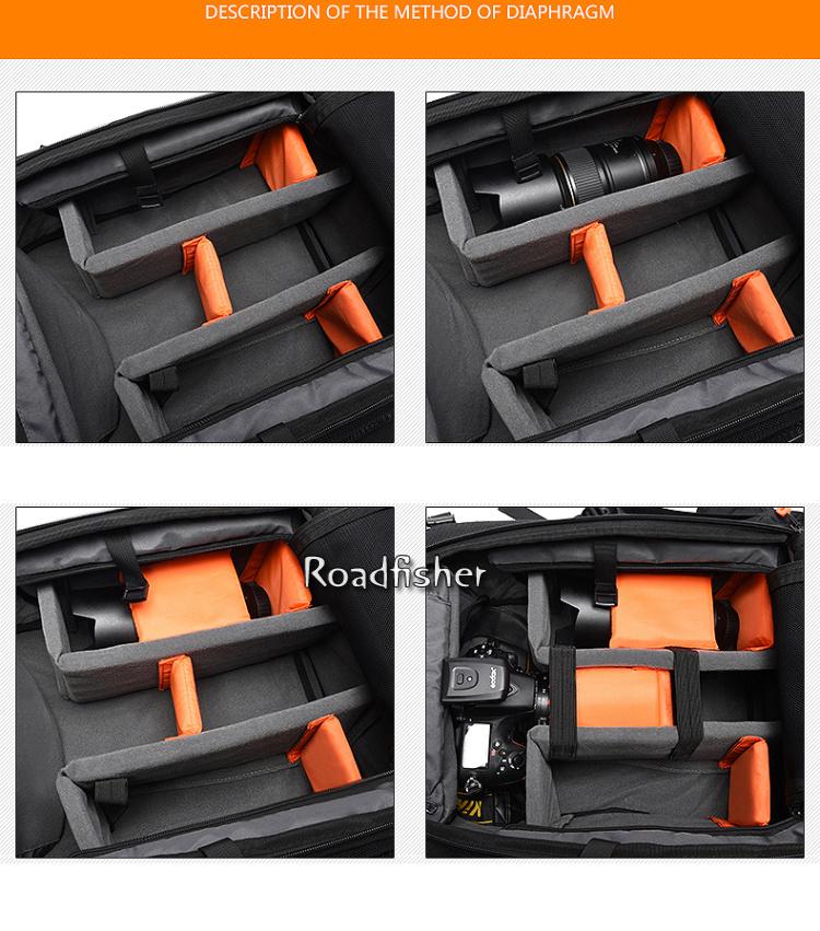 Camera backpack bag 4