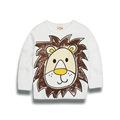 Spring Casual Outerwear Coats Animal the giraffe pullover girls boys t shirt child kids Rihanna Kanye