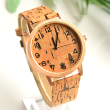 2015 New wood Watches Women casual watch Fashion clock men quartz watch High quality Free shipping