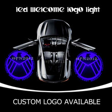 Buy Agents S.H.I.E.L.D Gobo Door Laser Projector Ghost Shadow Light Logo Auto Emblem Welcome Light Door Step Ground 2203 Blue for $31.19 in AliExpress store