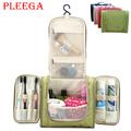 PLEEGA Brand Travel Wash Gargle Bag Portable Wash Makeup Organizer Bag High Capacity Women Big Hanged