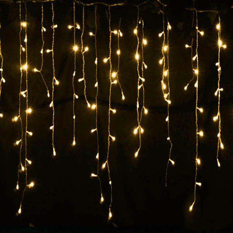 Connectable 5M led curtain icicle string lights led fairy lights Christmas lamps Icicle Lights Xmas Wedding Party Decoration(China (Mainland))