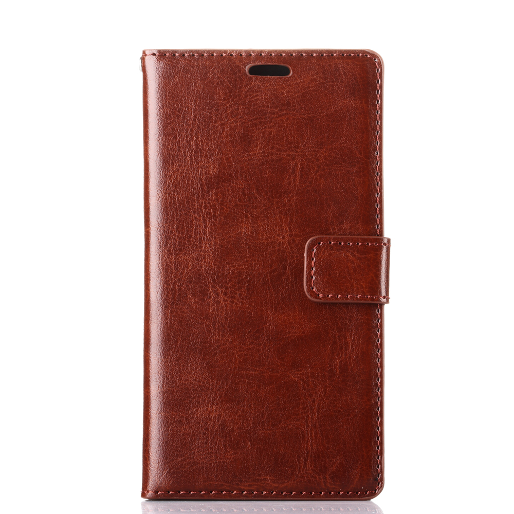 Case for sony E3 hot sale Crazy horse cover for sony Xperia E3 E III Crazy ma wen leather case for mobile phone bag free ship(China (Mainland))