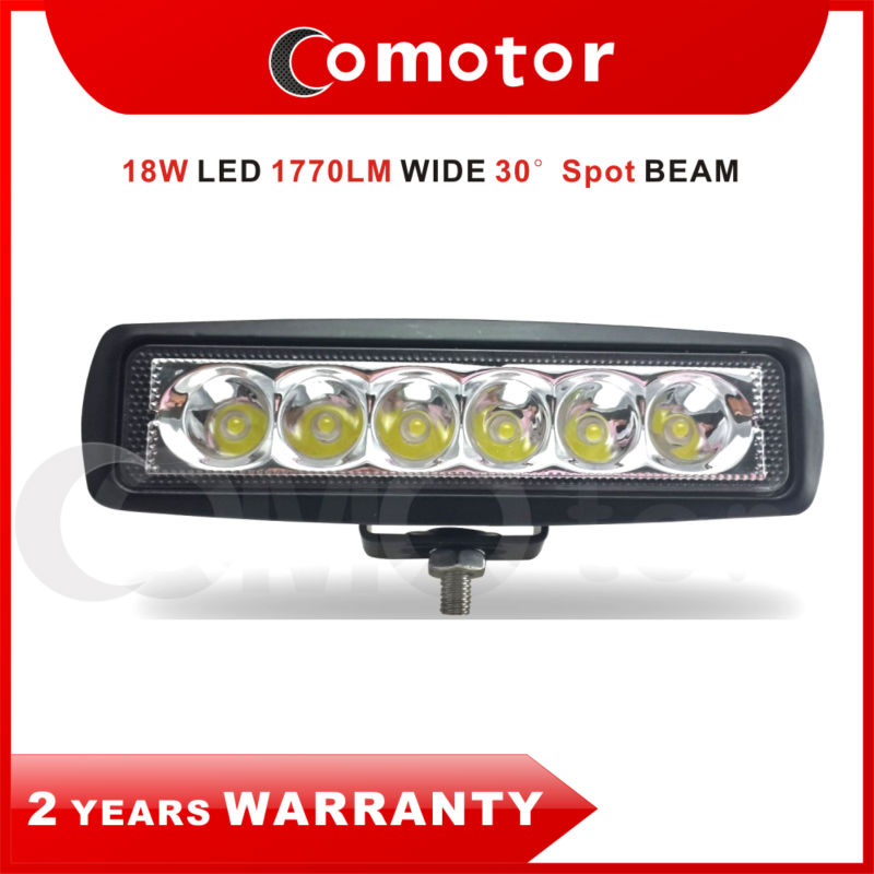 6 INCH 18W SPOT BEAM CREE LED Work Light FOR BOAT/ Off-road/ SUV/ Motorcycle ATV UTE 4WD, 12V 24V High intensity Car Lights(China (Mainland))