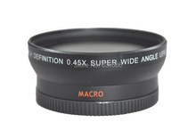 Buy 52MM 0.45x Wide Angle Lens + Macro Lens 67 UV Front Filter thread Nikon D5000 D5100 D3100 D7000 D3200 DSLR Camera for $20.40 in AliExpress store