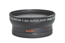 Buy 52MM 0.45x Wide Angle Lens + Macro Lens 67 UV Front Filter thread Nikon D5000 D5100 D3100 D7000 D3200 DSLR Camera for $24.00 in AliExpress store