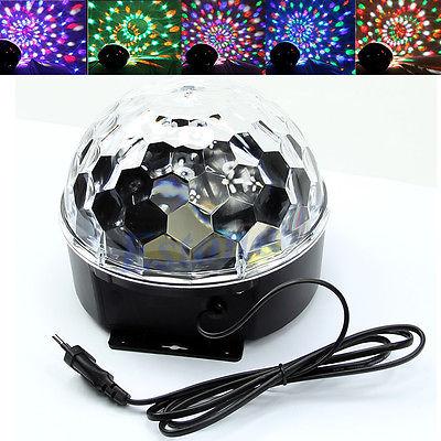 E74 18W LED RGB DJ Club Disco Party Crystal Magic Ball Effect Light Stage Lighting<br><br>Aliexpress