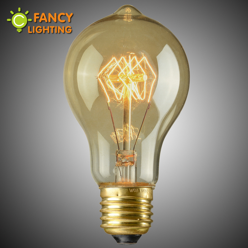 Buy Light Bulb Vintage A19 Retro Edison Lamp E27 Incandescent Bulb 110v 220v