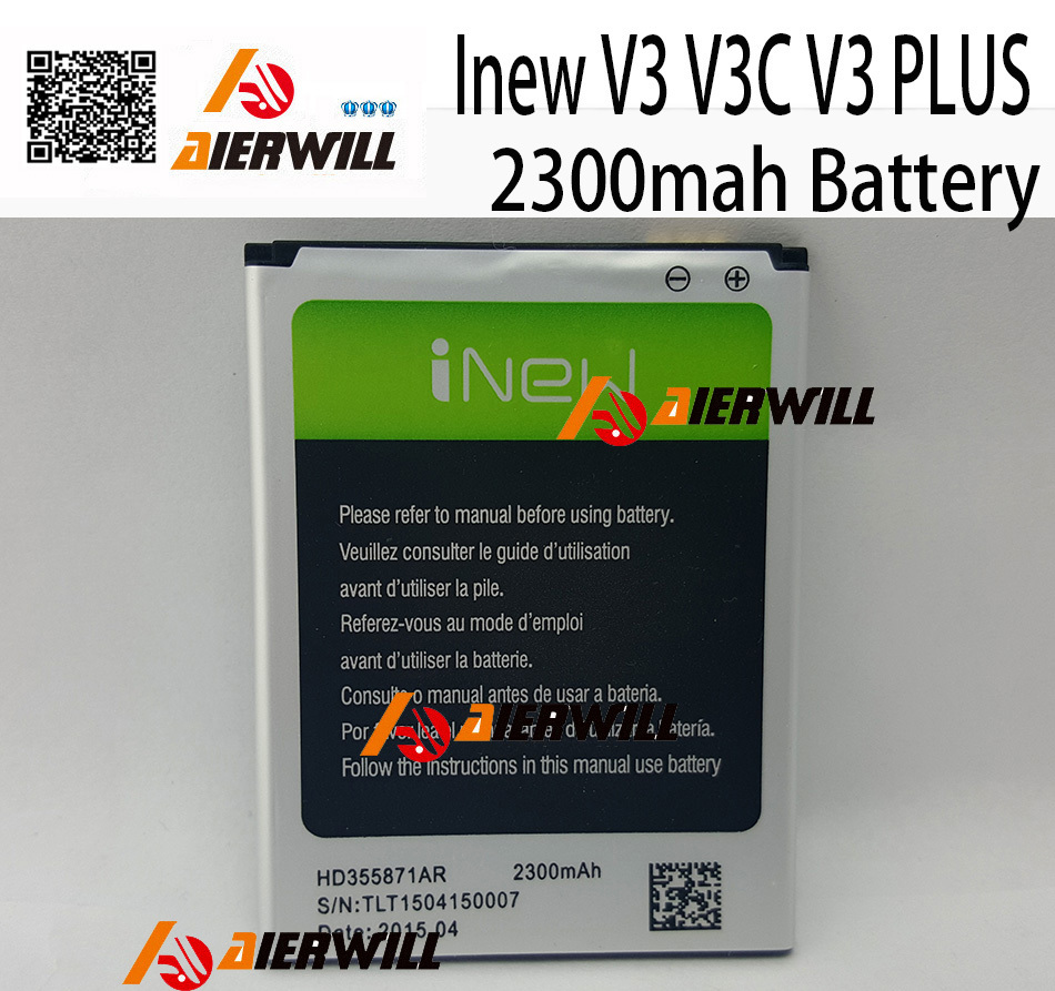 iNew V3 Battery 100% Original High Quality 2300mAh large capacity Li-ion Battery Replacement for iNew V3 Smart Phone(China (Mainland))