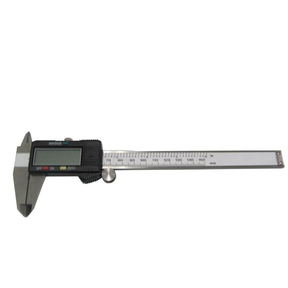 6 inchStainless Steel Electronic LCD Digital Vernier Caliper Gauge Micrometer TO43 - Monopoly wooden model toys store