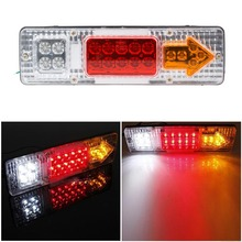 19-LED UTE Truck Trailer Lorry Caravan Stop Rear Tail Indicator Light Lamp(China (Mainland))
