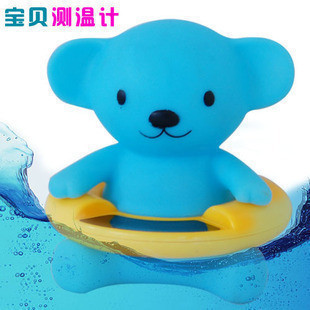 2015 Special Offer Direct Selling Digital Termometro Baby Toy Water H Bear Baby Thermometer Water Meter Swimming Toys 130g(China (Mainland))