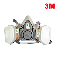 free shipping 3m6200respirator face mask painted activated carbon dust-tight dust smoke-proof aa(China (Mainland))
