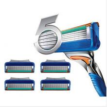 2015 New Brand 4pcs/lot  Razor Blades for Men Shaving High Quality Razor Blade Grade AAA+ Standard for RU&Euro(China (Mainland))