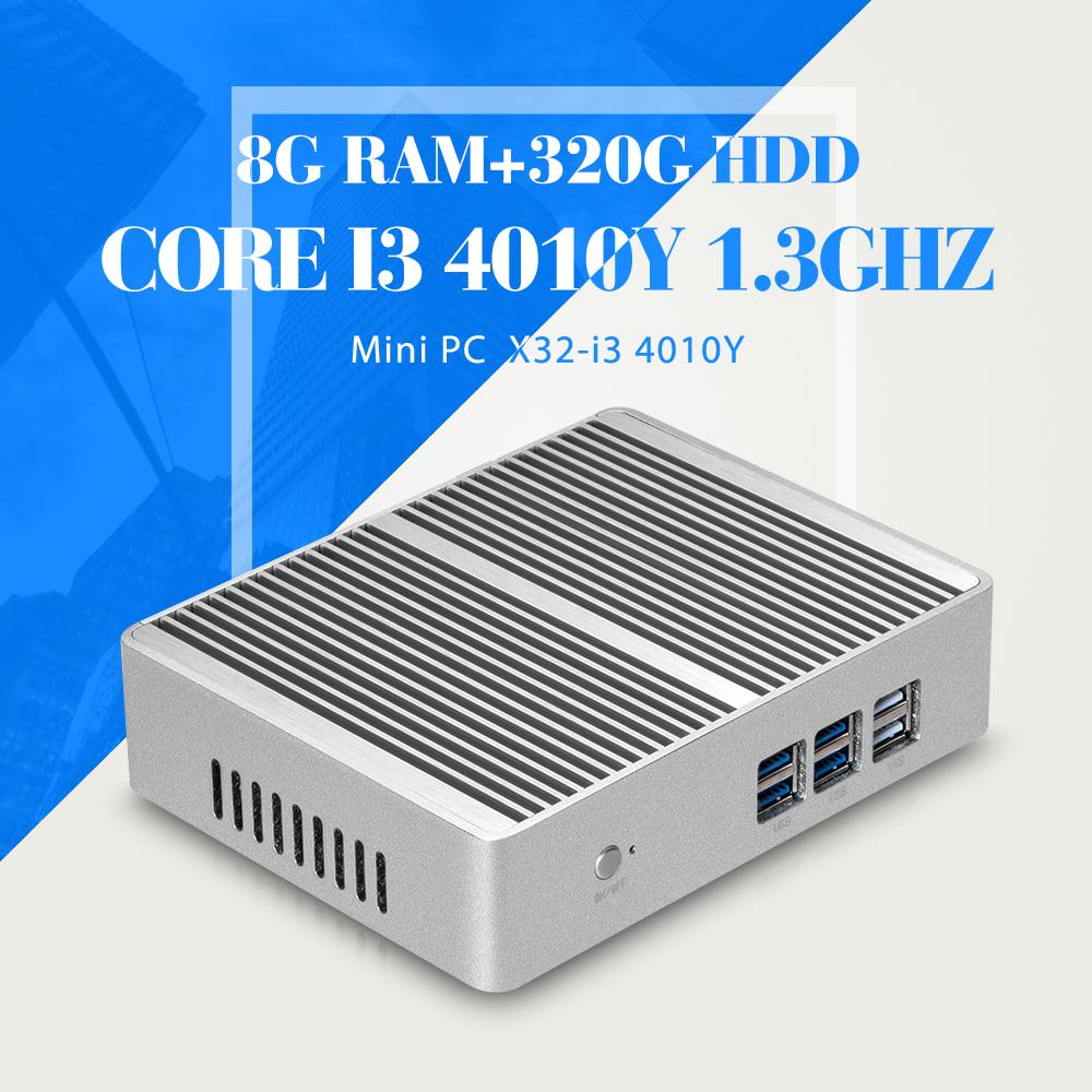 Mini PC Tablet I3 4010Y 8G RAM+320G HDD+WIFI Desktop Computer Htpc Cheap Mini Desktop PC Windows 7 Ubuntu(China (Mainland))