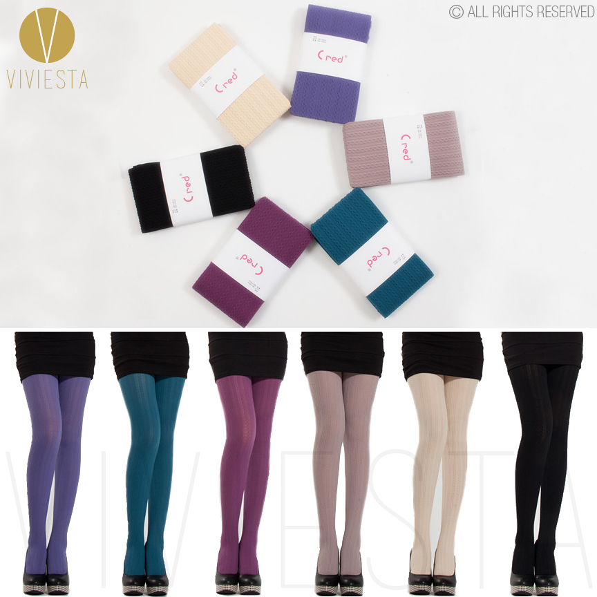 opaque colored tights - Collants Opaques Colors
