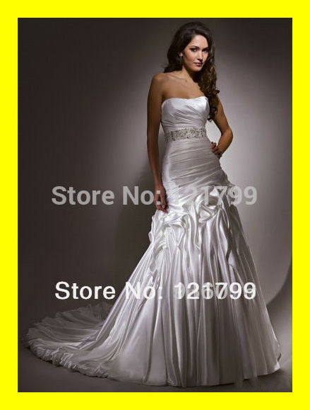 Summer Wedding Dress Casual Champagne Dresses Strapless